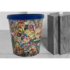 Papierkorb 18 Liter  Motiv Graffity